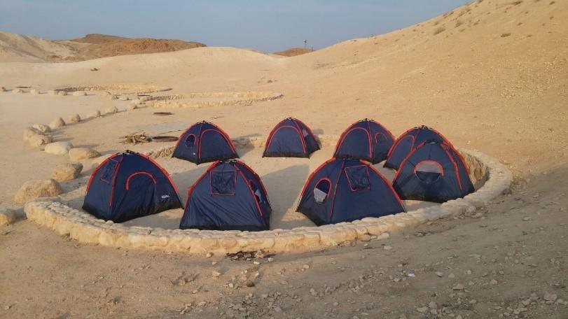 אוהלים במדבר